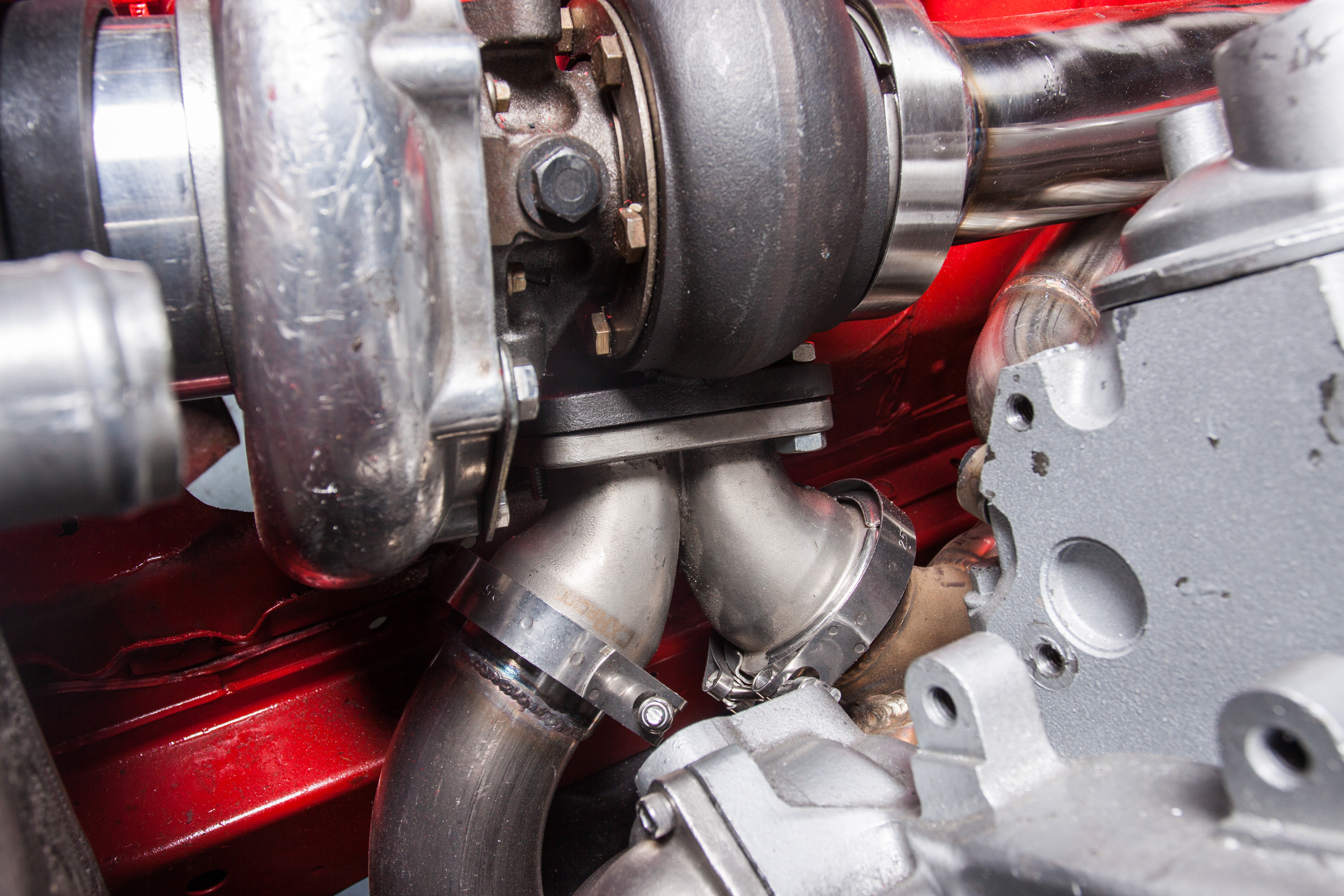 Turbo Manifold Downpipe Intercooler Kit 240sx S13 S14 Ls1 Lsx Engine Fuel Filter Optional Dual Ball Bearing Is Available With 250 Extra Please Select The Option When Buying