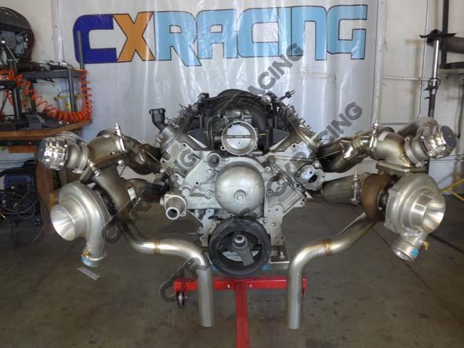 LS1 Twin Turbo Manifold Kit Motor Mounts Oil Pan For 63-65 ...