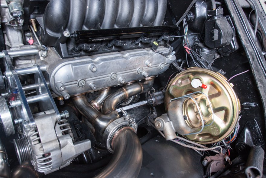 Twin Turbo Header Downpipe Intercooler Radiator Piping Kit