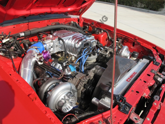 Twin Turbo Kit For 79 93 Ford Foxbody Mustang 5 0l Dual