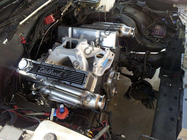 T04E Twin Turbo DIY Kit For Small Block Chevy SBC GM 302 305