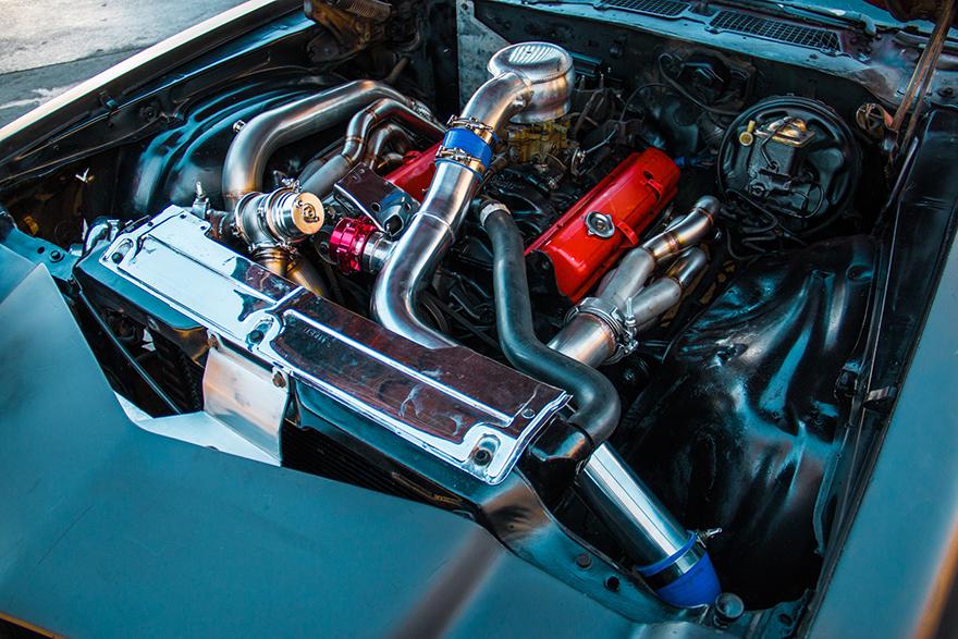 Turbo Intercooler Kit For 74 81 Chevrolet Camaro Small